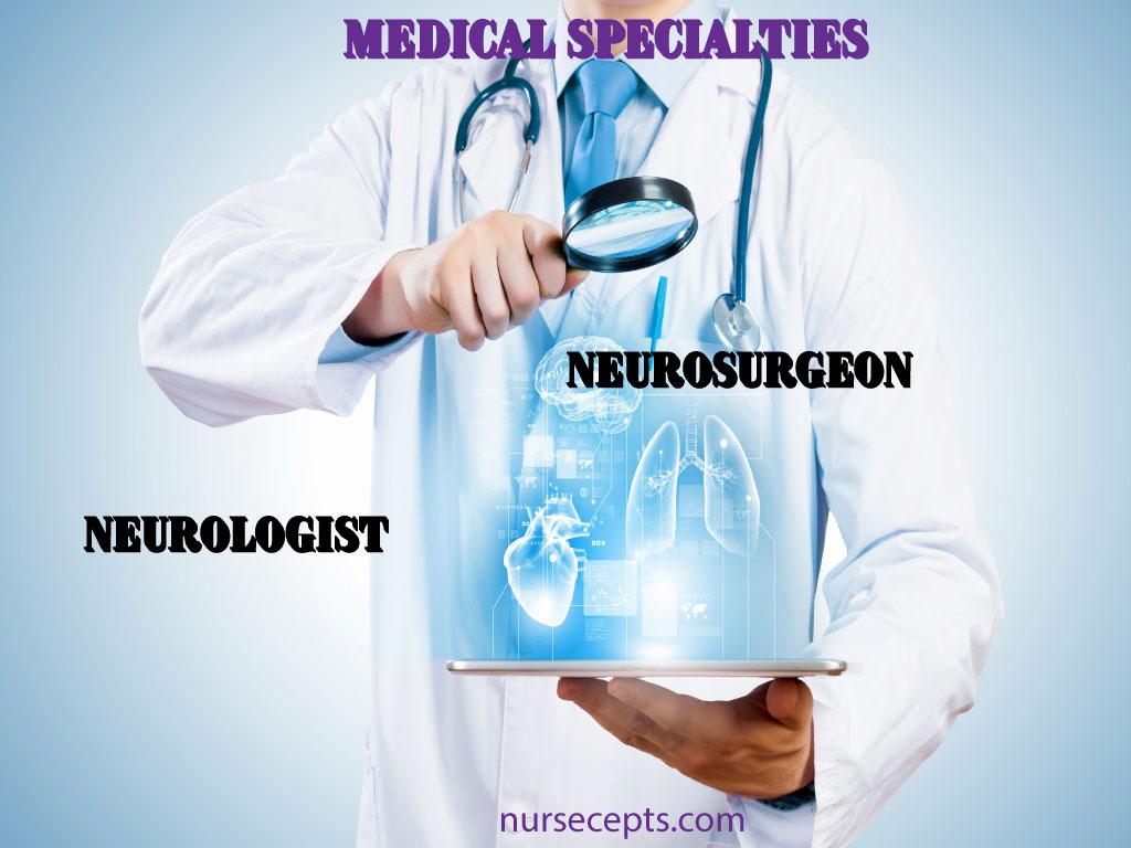 Medical Terminology Nervous System_Medical Specialties